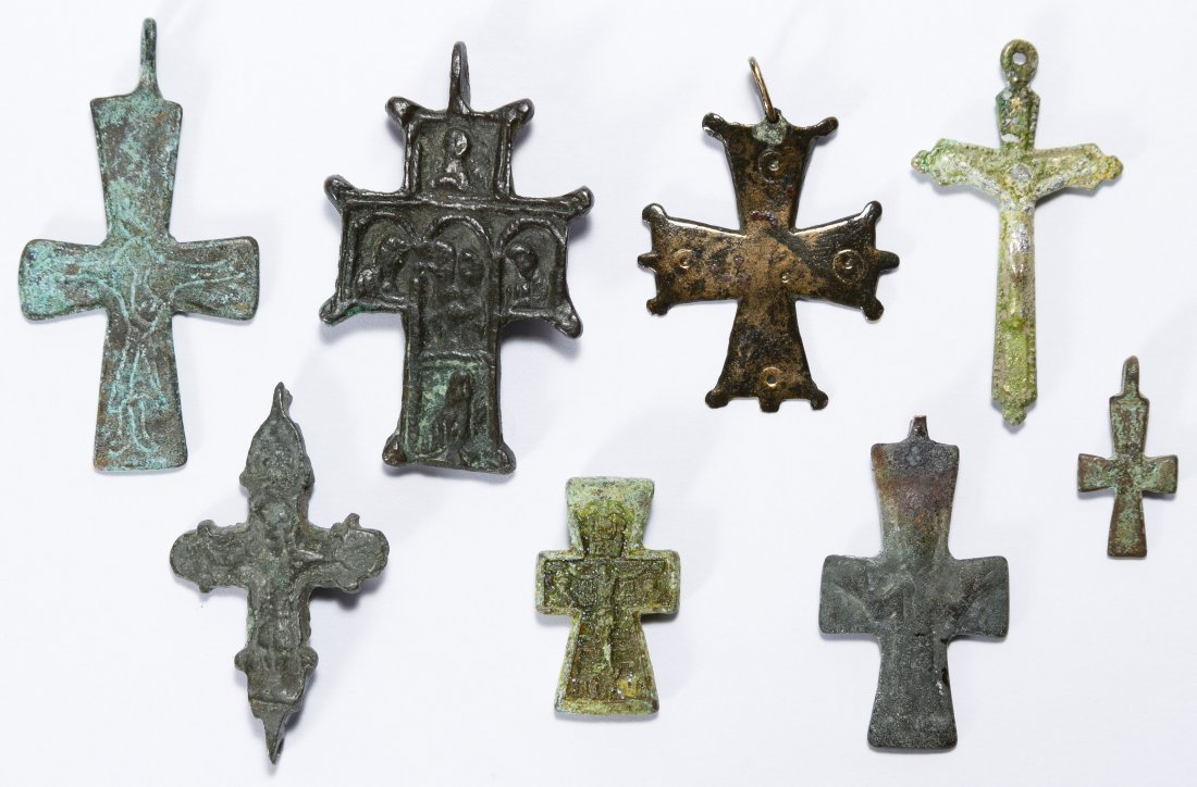 Byzantine Metal Cross Assortment