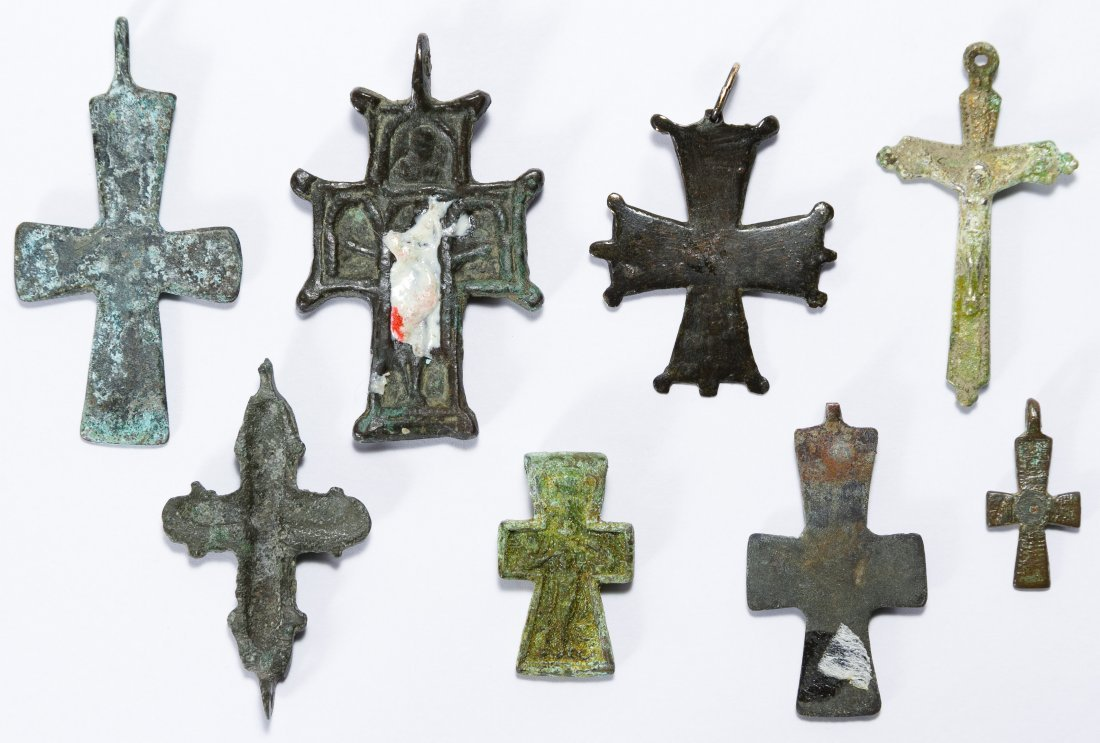 Byzantine Metal Cross Assortment - 2