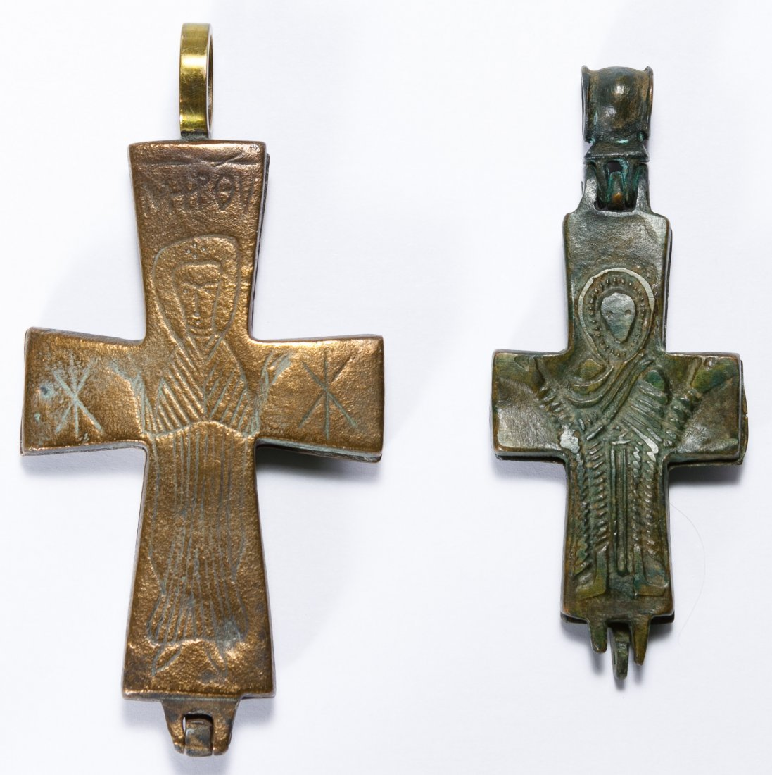 Byzantine Reliquary Crosses