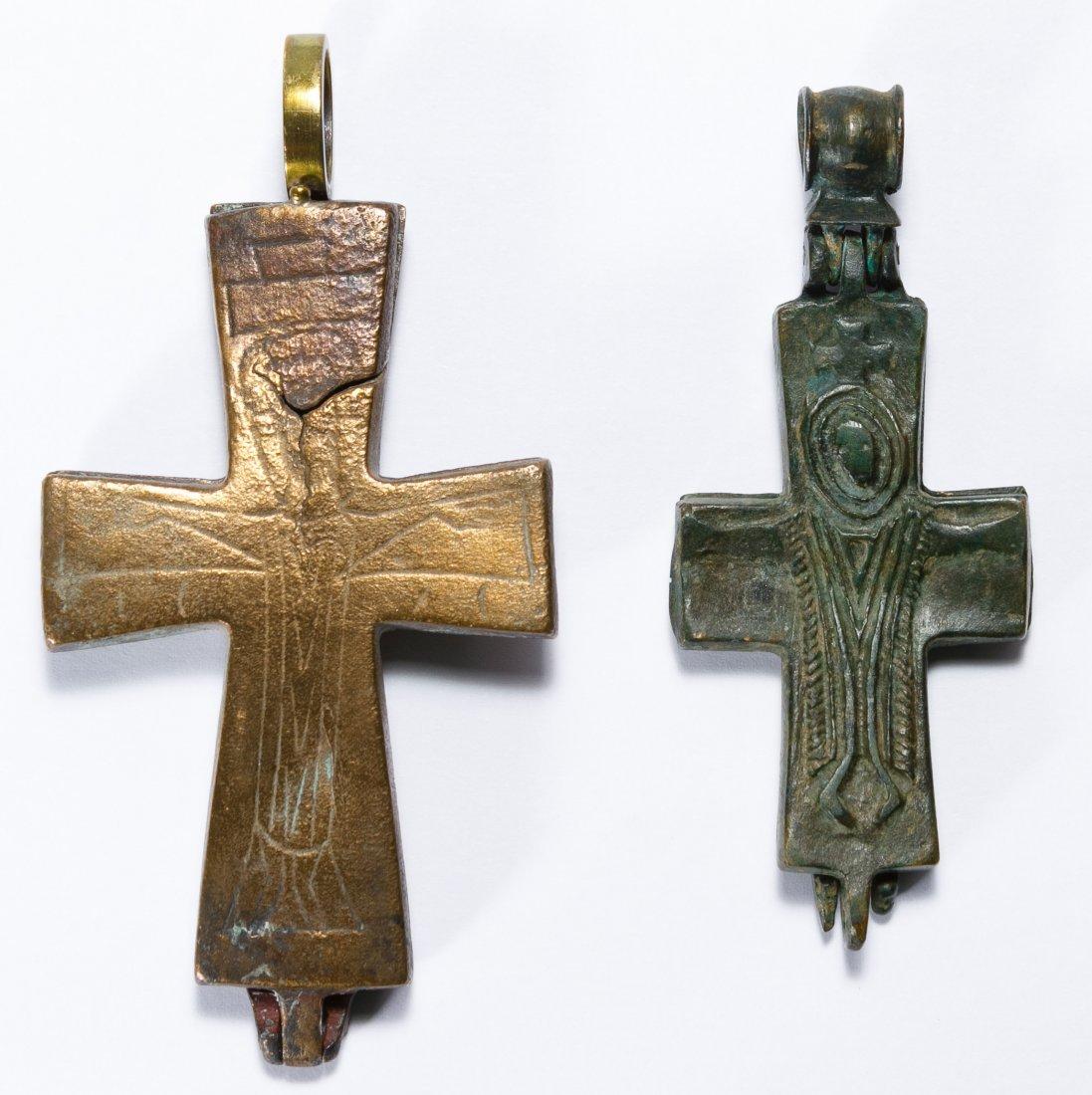 Byzantine Reliquary Crosses - 2
