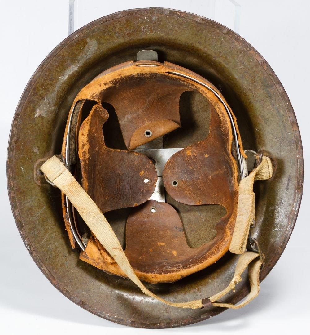 World War II USMC M1917A Helmet - 3