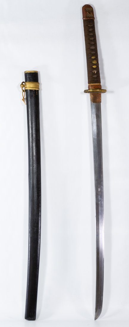 Japanese Katana Sword and Scabbard