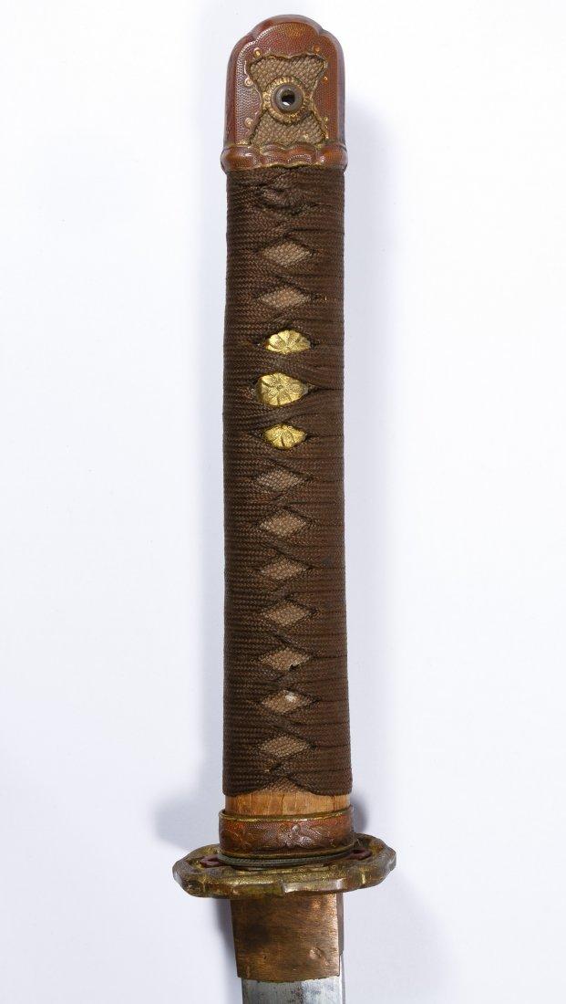 Japanese Katana Sword and Scabbard - 2