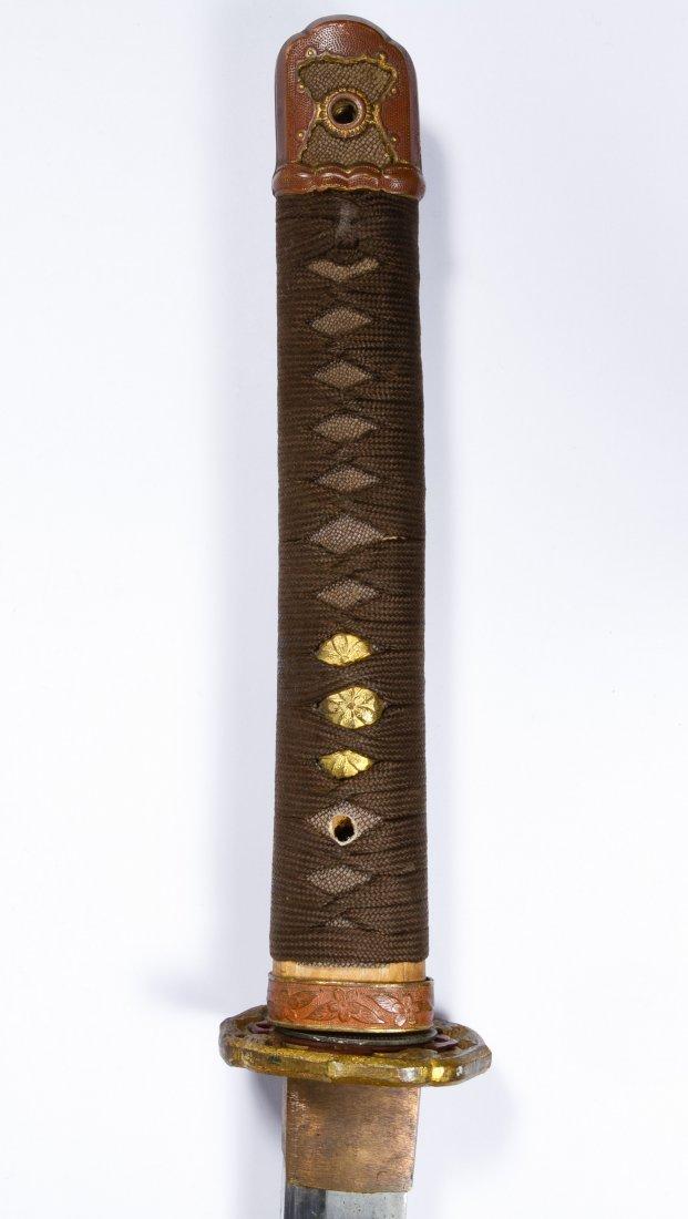 Japanese Katana Sword and Scabbard - 3