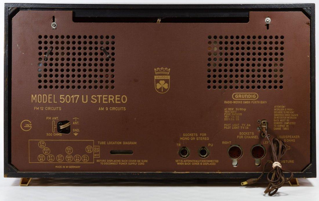 Grundig Majestic Multi-Sonic Radio - 3