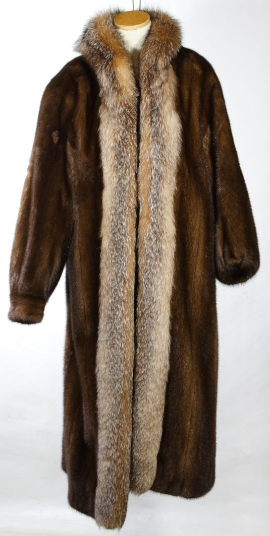 Mink Fur Coat by Christian Dior