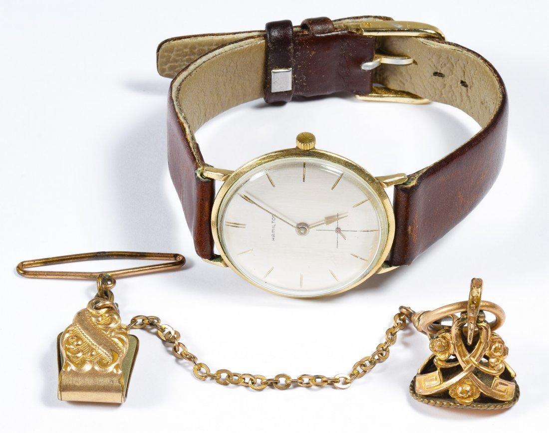 Hamilton 10k Gold Filled Wrist Watch