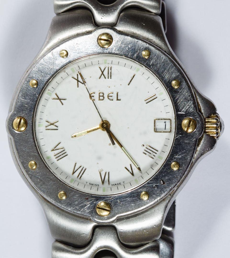 Ebel 'Sportwave' Stainless Steel Wrist Watch - 2