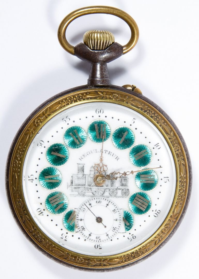 Regulateur Railroad Pocket Watch