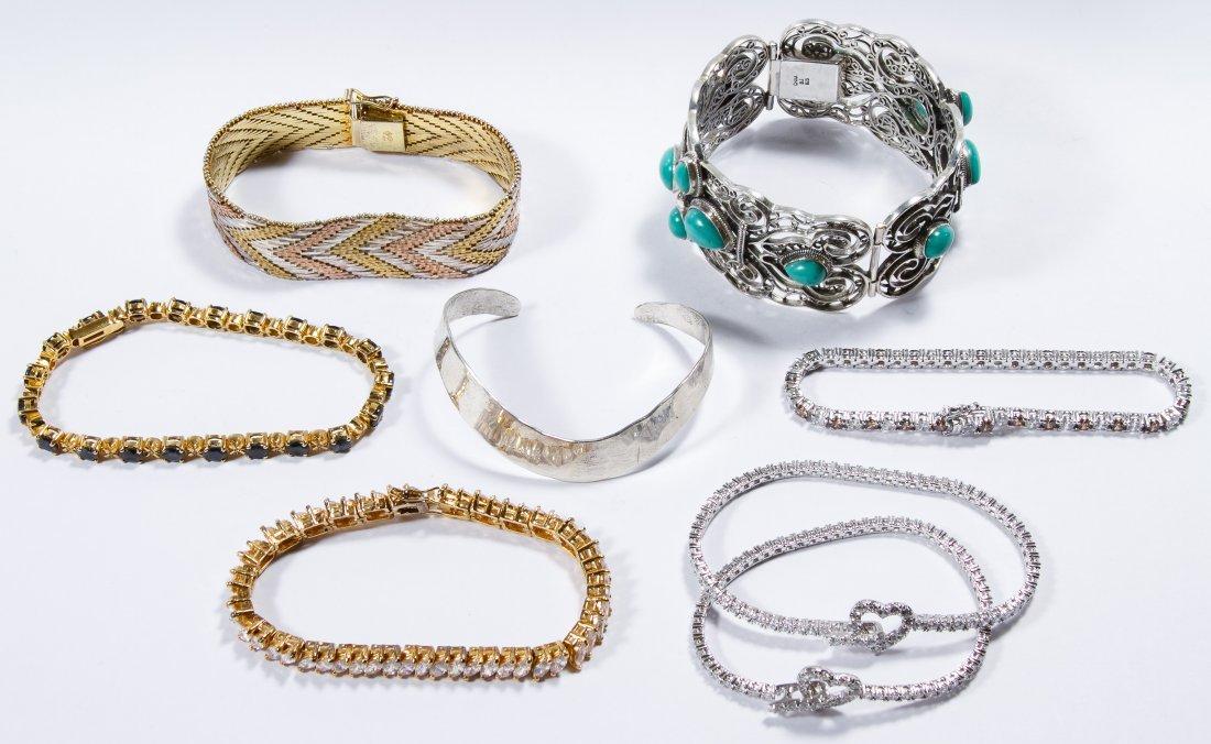 Sterling Silver Bracelet Assortment