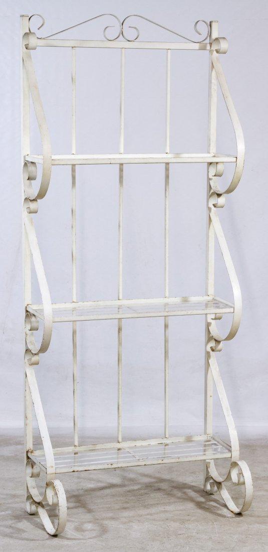 Painted Metal Baker's Rack - 2