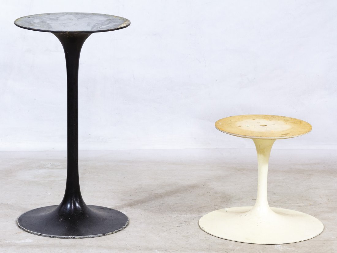Mid-Century Modern Metal Table Supports by Florence