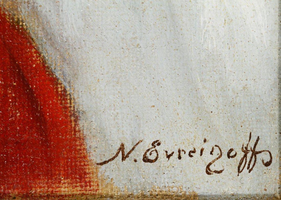 Nicolas Evreinoff (European, 1879-1953) Portraits Oil - 3