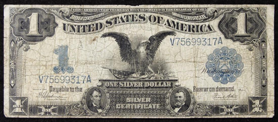 1899 $1 'Black Eagle' Silver Certificate VG