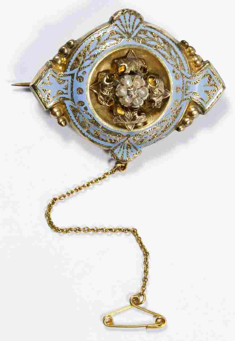 10k Gold Brooch Pin