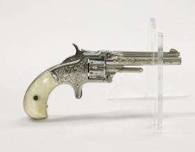 SMITH AND WESSON ENGRAVED REVOLVER