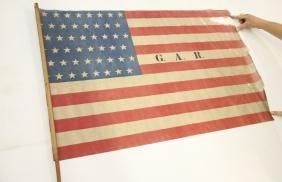 WITH ORIGINAL FLAG STICK