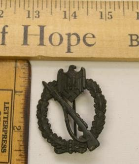 WWII NAZI GERMANY INFANTRY ASSAULT BADGE
