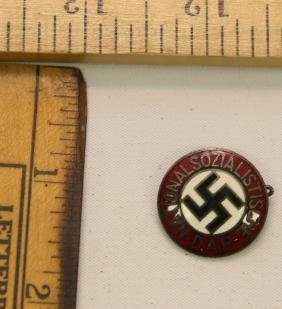 WWII NAZI GERMANY NSDAP PIN