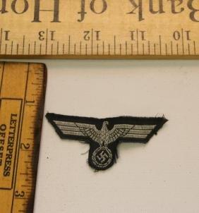 WWII NAZI GERMANY ARMY BREAST EAGLE PATCH