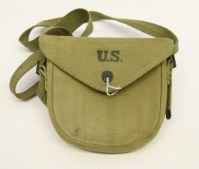 U.S. WWII THOMPSON DRUM BAG