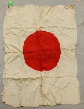WWII JAPANESE BATTLE FLAG
