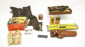 LOT OF GUN RELATED ITEMS