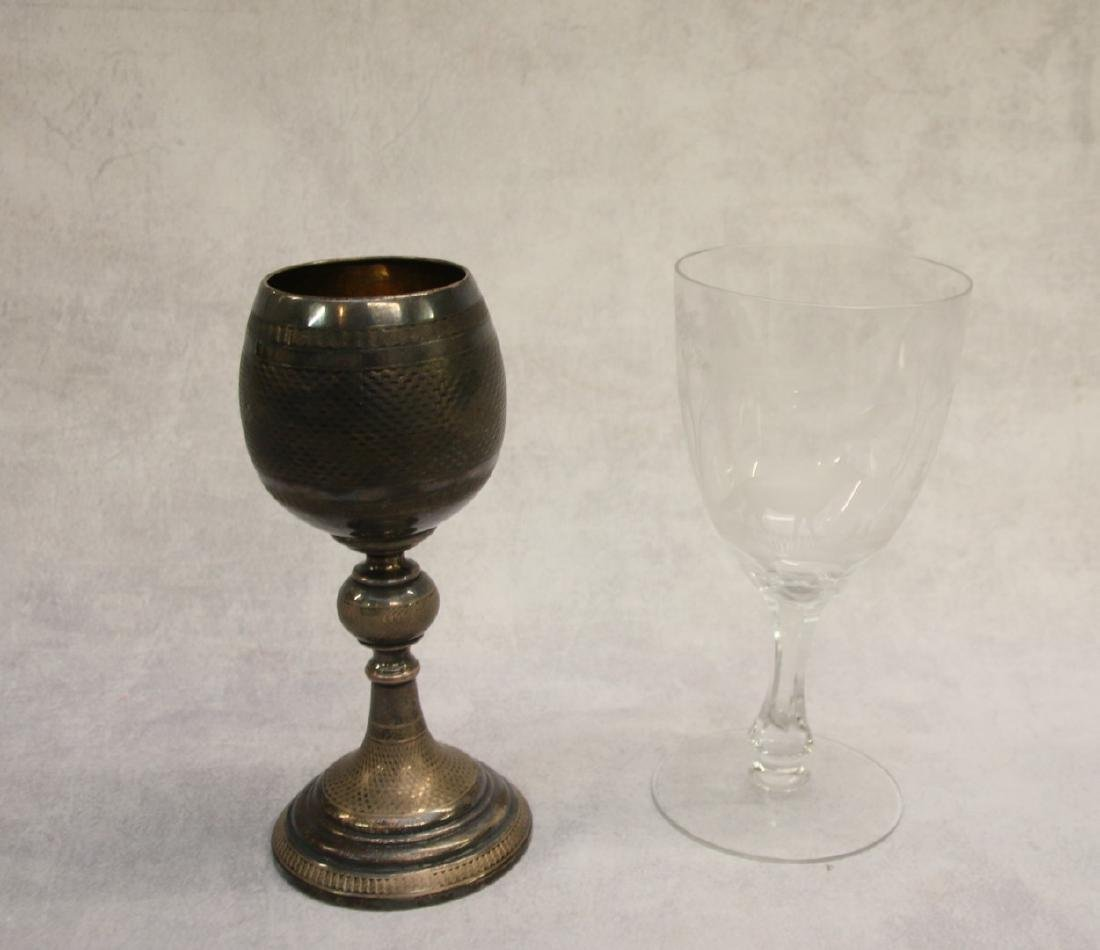 PAIR OF GOBLETS