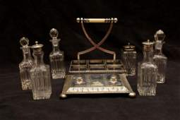 SILVERPLATE CONDIMENT CADDY
