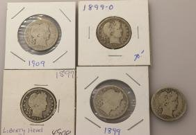 Barber Head Quarter Lot