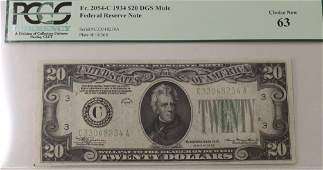 2000 FEDERAL RESERVE NOTE