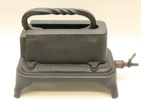 Natural Gas Tailor Heater W/ Tailor Iron # 20