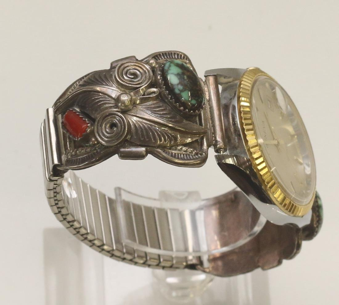 NATIVE AMERICAN WATCH BAND - 2