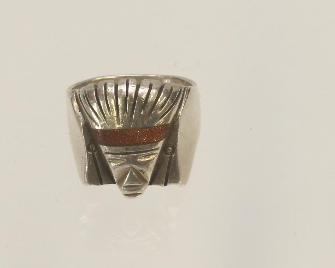 STERLING SILVER MEXICO RING