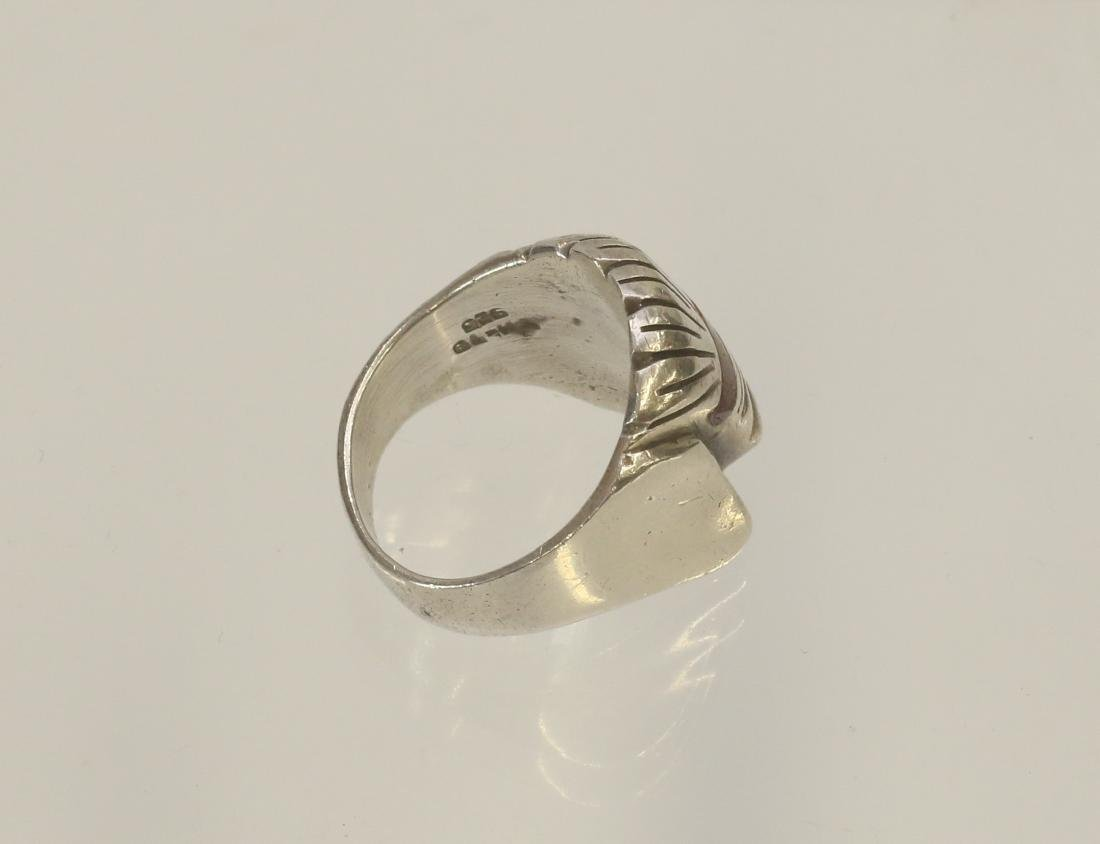 STERLING SILVER MEXICO RING - 2