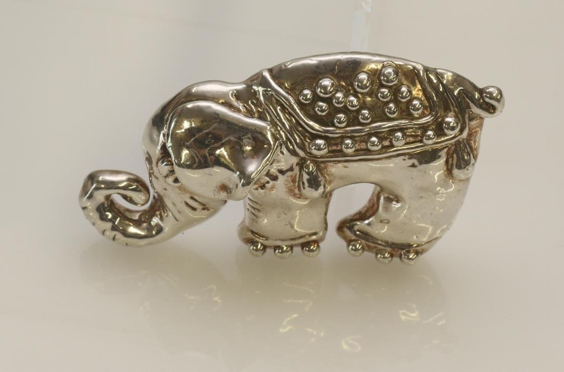 STERLING ELEPHANT