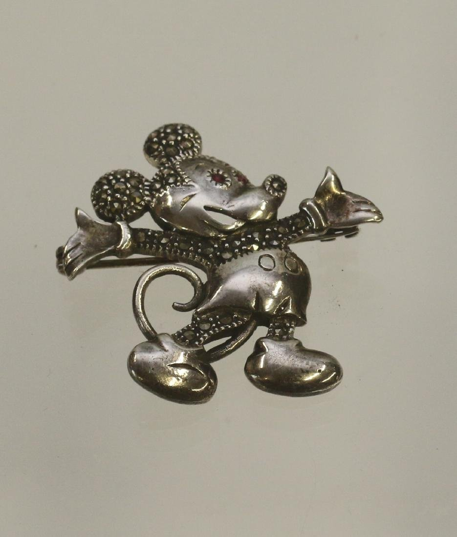 STERLING MARQUISATE MOUSE