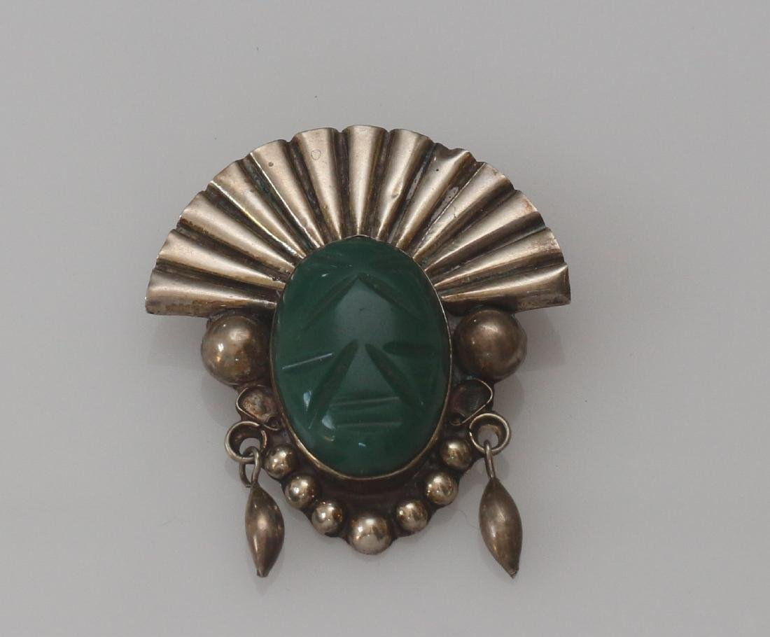 MEXICAN STERLING VINTAGE BROACH