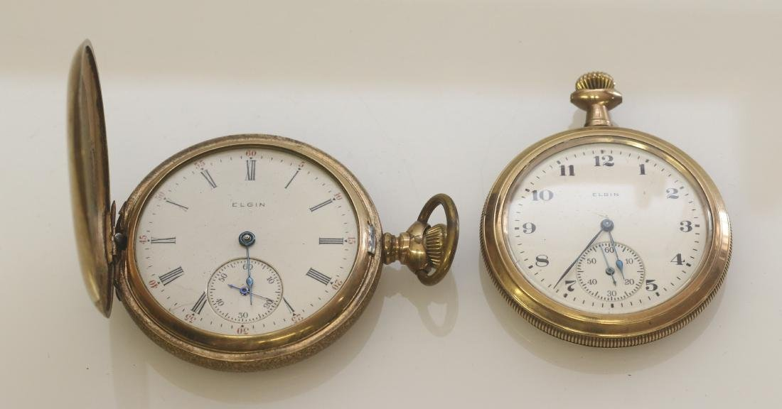 (2) ELGIN AMERICAN POCKET WATCHES