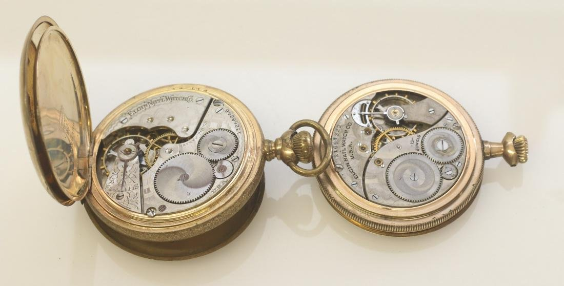(2) ELGIN AMERICAN POCKET WATCHES - 2