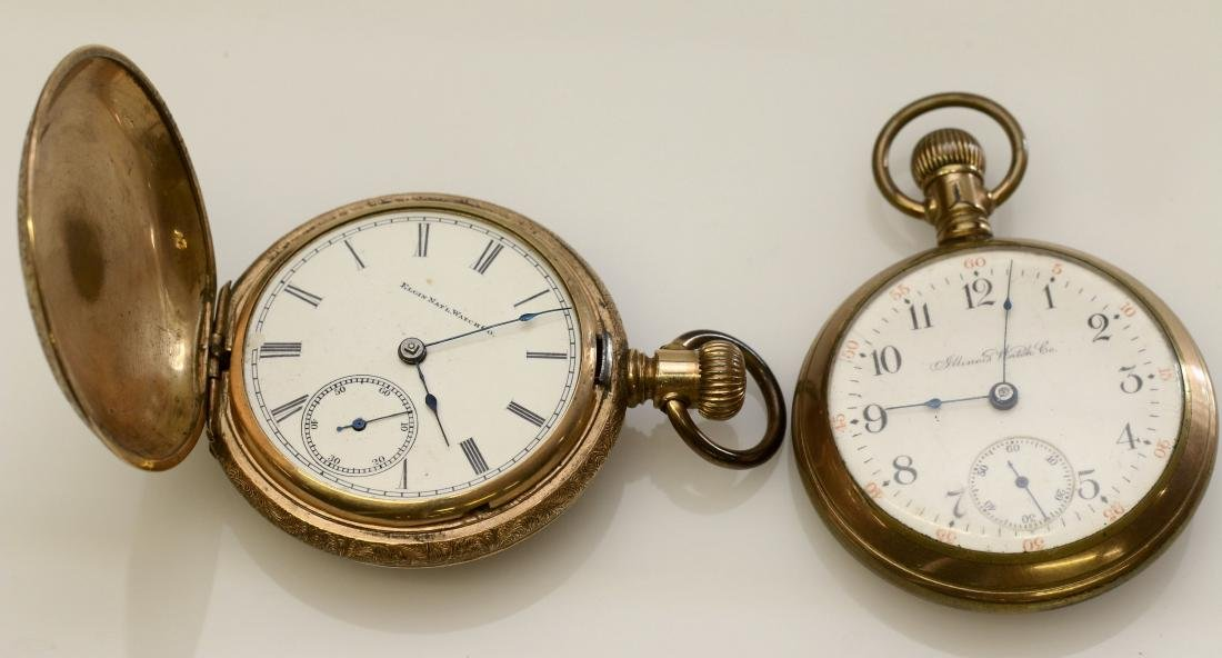 ILLINOIS AND ELGIN POCKET WATCH