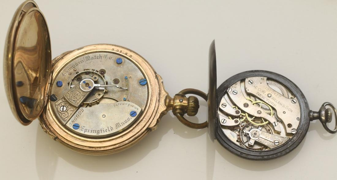 (2) POCKET WATCHES - 2