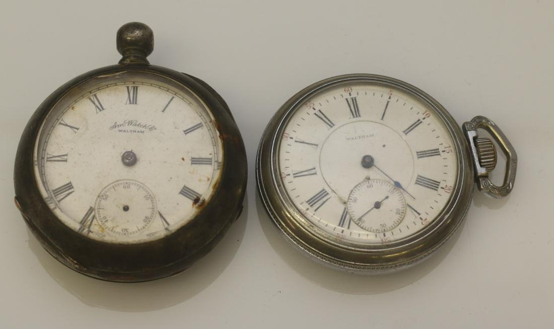 (2) POCKET WATCHES