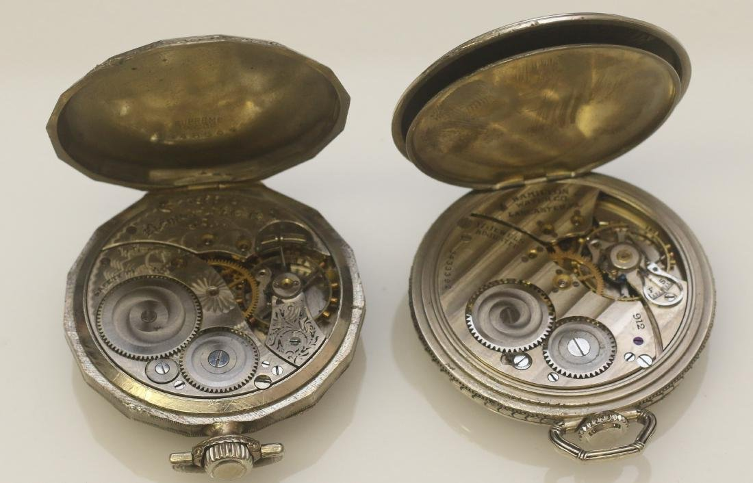 (3) POCKET WATCHES - 2