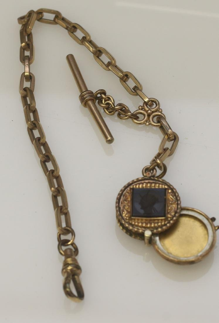 VICTORIAN GOLD FILLED WATCH CHAIN