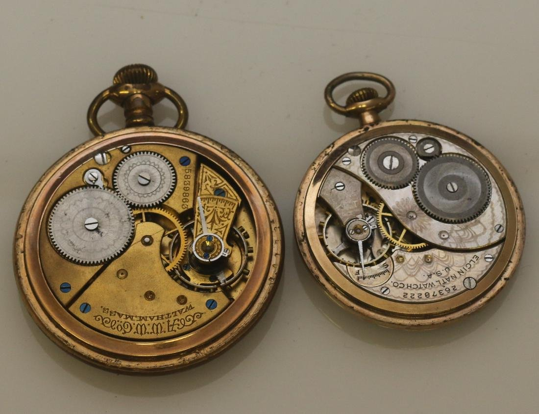 (5) POCKET WATCHES - 3