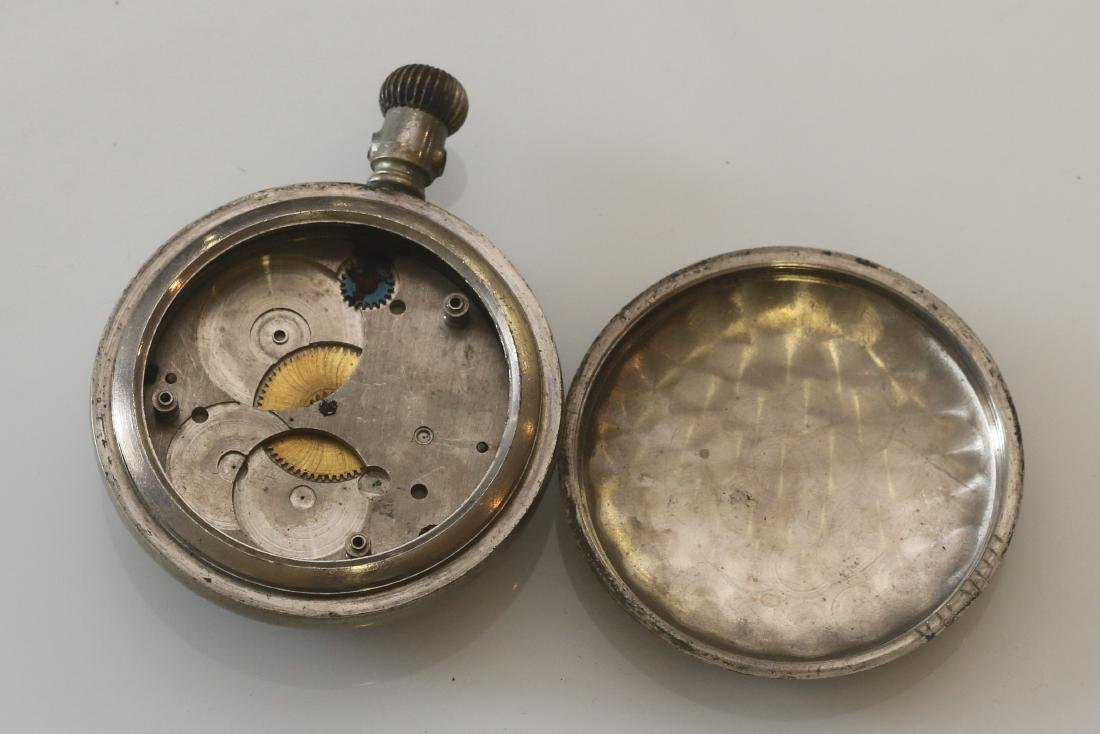 (4) POCKET WATCHES - 3
