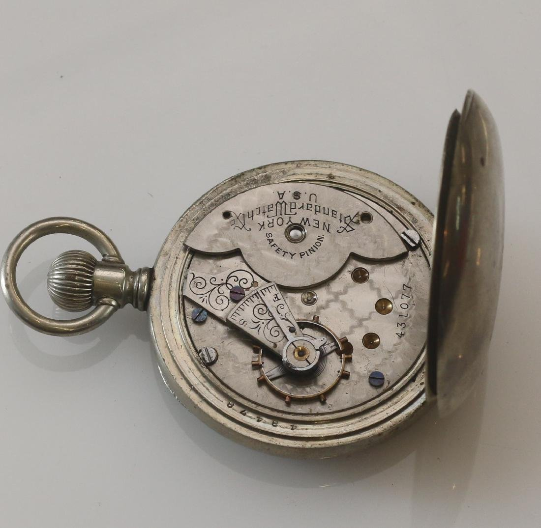 (4) POCKET WATCHES - 5