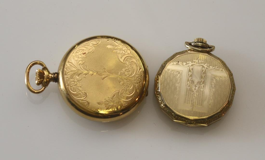 (2) POCKET WATCHES - 3