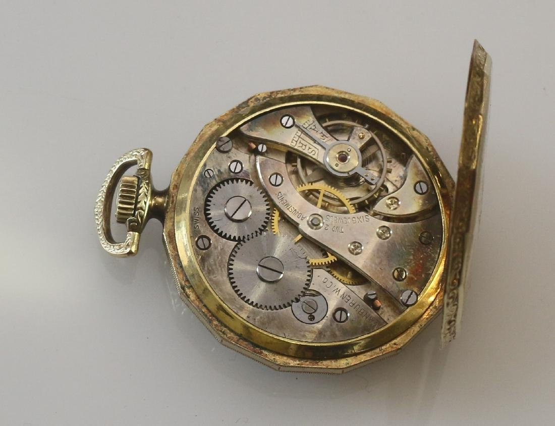 (2) POCKET WATCHES - 4